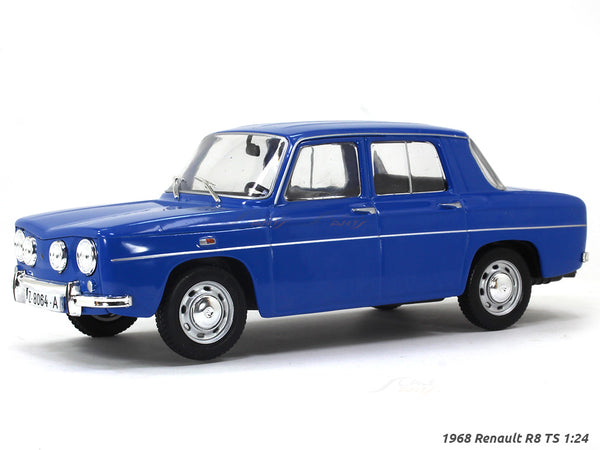 1968 Renault R8 TS 1:24 diecast scale model car