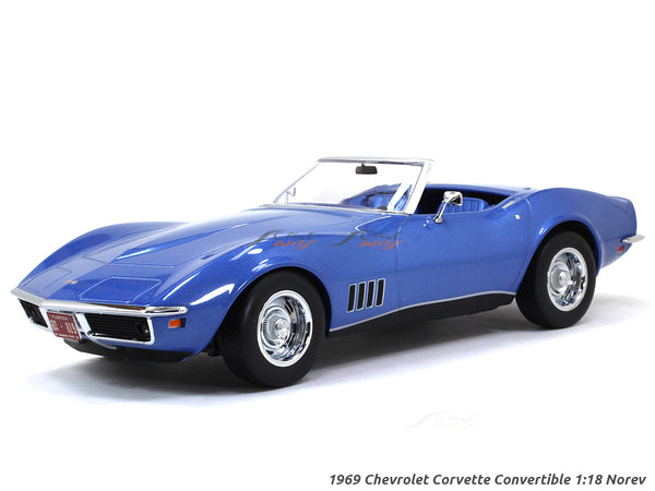 1969 Chevrolet Corvette Convertible 1:18 Norev scale diecast model hobby car