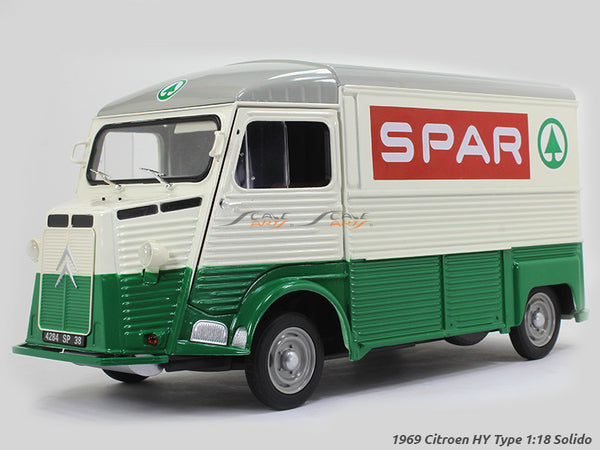 1969 Citroen HY Type Spar 1:18 Solido diecast Scale Model Van
