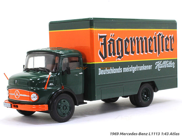 1969 Mercedes-Benz L1113 1:43 DeAgostini Atlas diecast Scale Model Truck