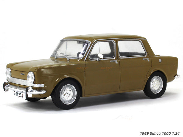 1969 Simca 1000 1:24 diecast scale model car