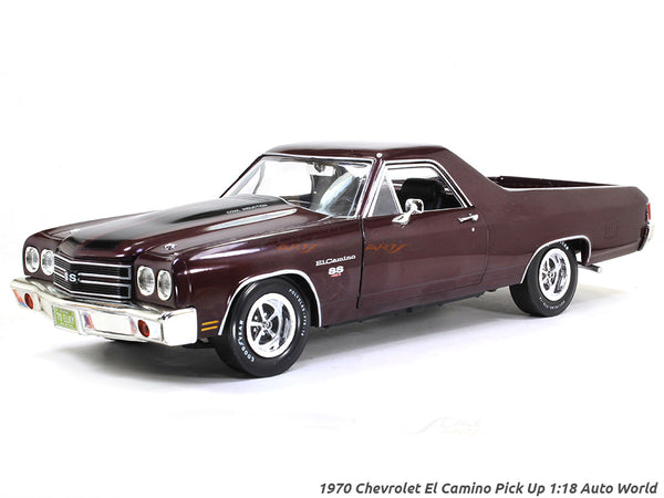 1970 Chevrolet El Camino Pick Up 1:18 Auto World diecast scale model car
