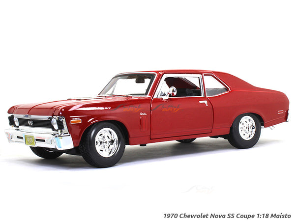 1970 Chevrolet Nova SS Coupe 1:18 Maisto diecast Scale Model car
