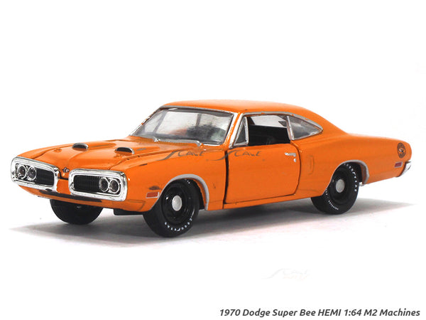 1970 Dodge Super Bee HEMI 1:64 M2 Machines diecast Scale Model Truck