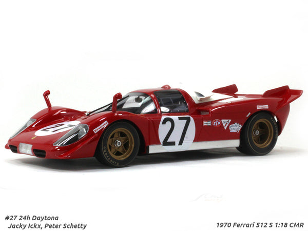 1970 Ferrari 512 S #27 1:18 CMR scale model car