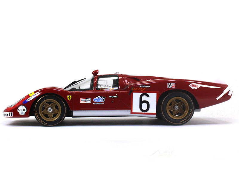 1970 Ferrari 512s Long Tail 1 18 Cmr Scale Model Car