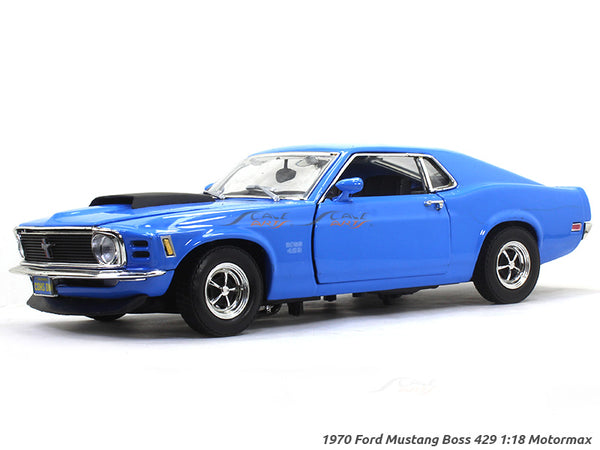 1970 Ford Mustang Boss 429 1:18 Motormax diecast scale model car
