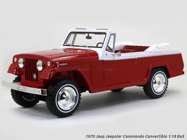 1970 Jeep Jeepster Commando Convertible 1:18 BoS scale model car
