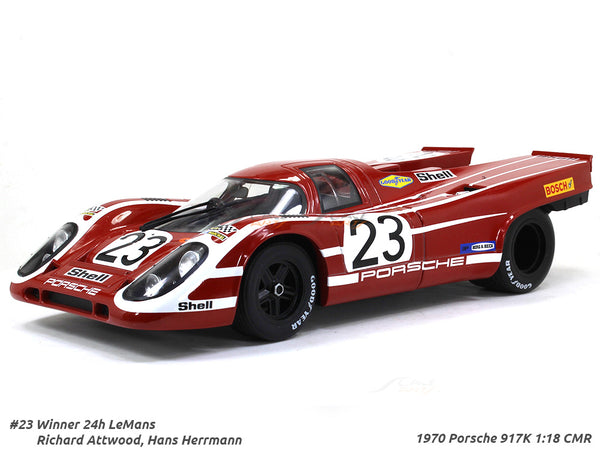 1970 Porsche 917K #23 Le mans Winner 1:18 CMR diecast scale model car