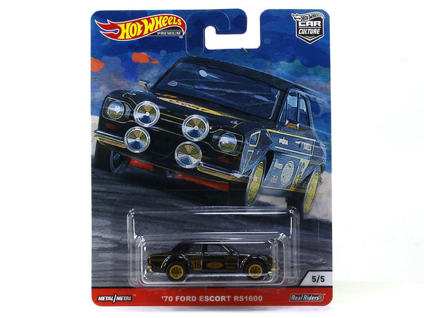 1970 Ford Escort RS1600 Car Culture 1:64 Hotwheels premium collectible