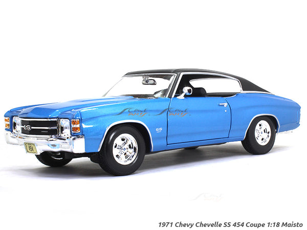 1971 Chevy Chevelle SS 454 Coupe 1:18 Maisto diecast Scale Model car