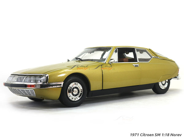 1971 Citroen SM 1:18 Norev diecast scale model car