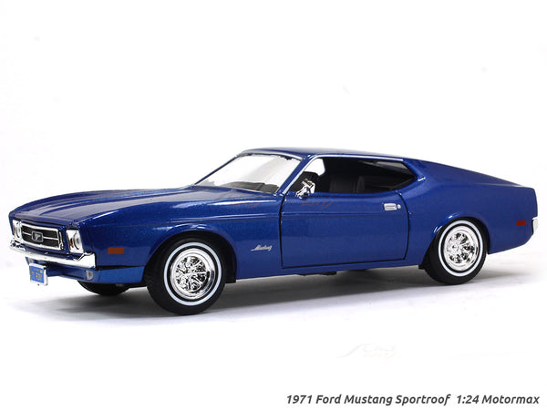 1971 Ford Mustang Sportroof 1:24 Motormax diecast scale model car