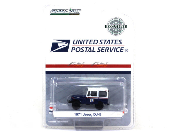1971 Jeep DJ 5 1:64 Greenlight diecast Scale Model car