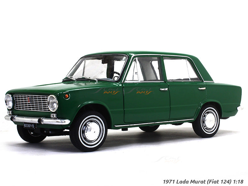 1971 Lada Murat Fiat 124 1 18 Diecast Scale Model Car