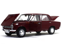 1971 Lada Murat (Fiat 124) maroon 1:18 diecast scale model car