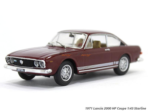 1971 Lancia 2000 Coupe HF 1:43 Starline diecast Scale Model car