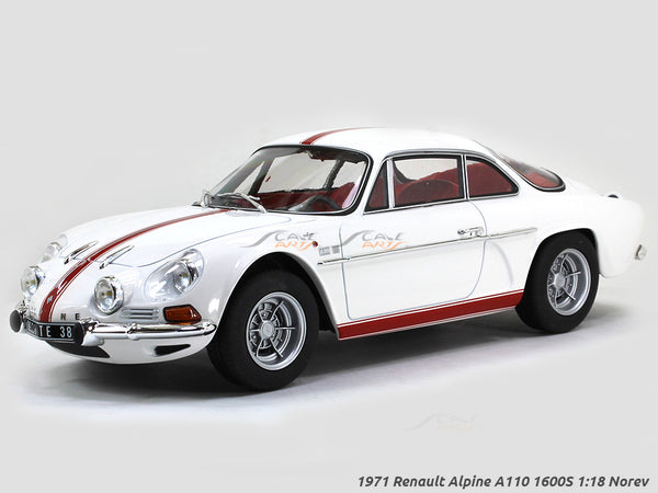 1971 Renault Alpine A110 1600S 1:18 Norev scale diecast model hobby car