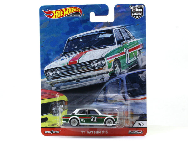 1971 Datsun 510 Car Culture 1:64 Hotwheels premium collectible