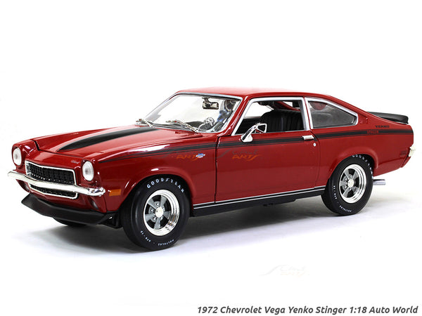 1972 Chevrolet Vega Yenko Stinger 1:18 Auto World diecast scale model car