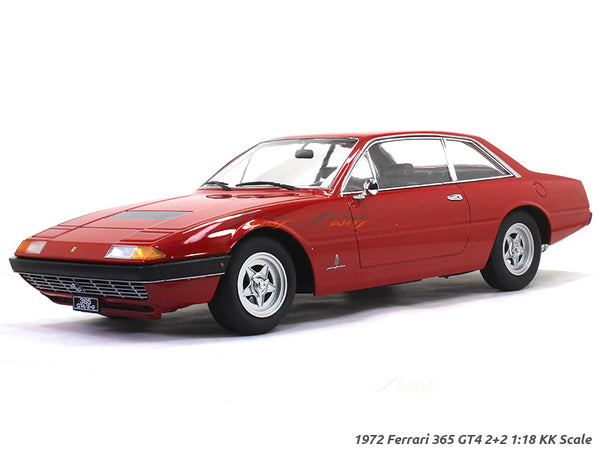 1972 Ferrari 365 GT4 2+2 red 1:18 KK Scale diecast model car