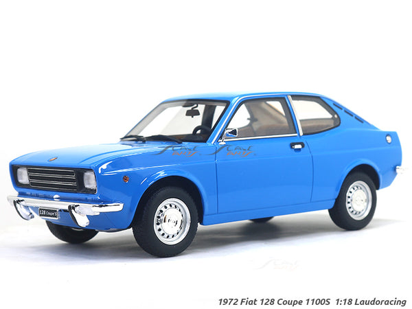 1972 Fiat 128 Coupe 1100S 1:18 Laudoracing Scale Model car