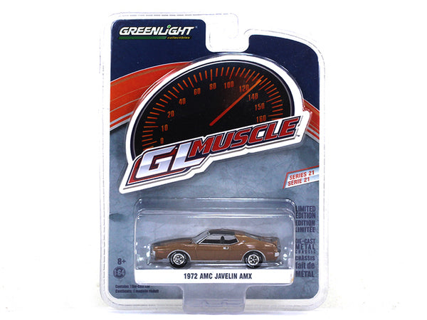 1972 GMC Javelin AMX 1:64 Greenlight diecast Scale Model car