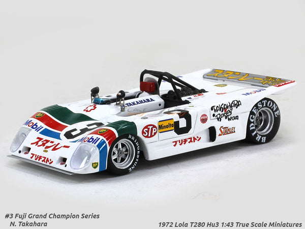1972 Lola T280 Hu3 #3 Fuji Grand Champion series 1:43 True Scale Miniatures Scale Model Car