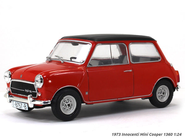 1973 Innocenti Mini Cooper 1360 1:24 diecast scale model car