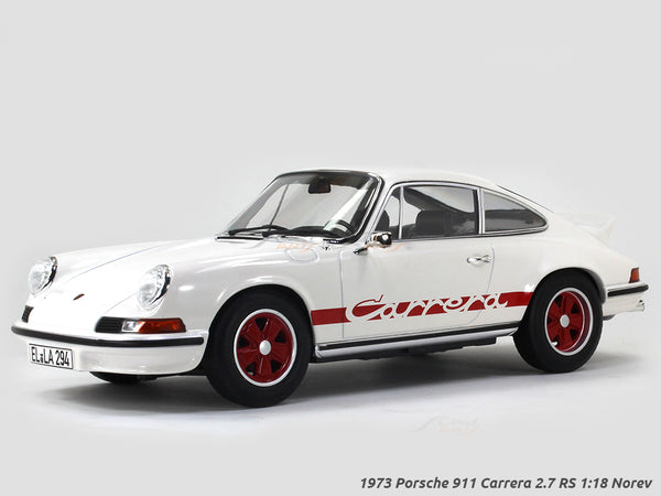 1973 Porsche 911 Carrera 2.7 RS 1:18 Norev scale diecast hobby model