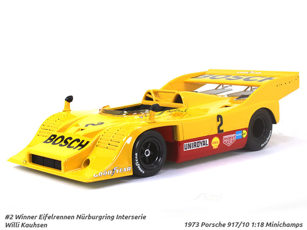 1973 Porsche 917/10 1:18 Minichamps diecast Scale Model Car