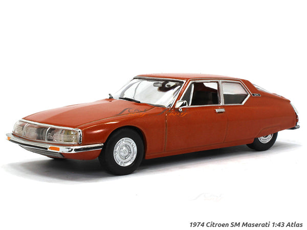 1974 Citroen SM 1:43 Atlas diecast scale model car