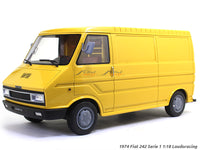 1974 Fiat 242 Serie 1 1:18 Laudoracing diecast Scale Model Van