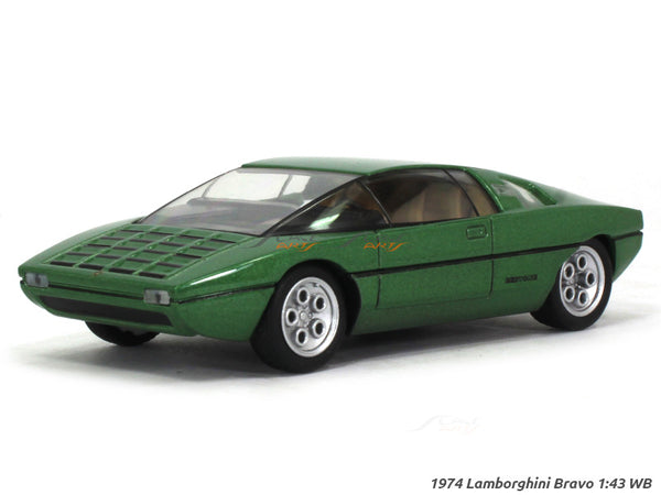 1974 Lamborghini Bravo 1:43 Whitebox diecast Scale Model Car
