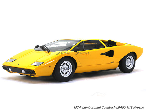1974 Lamborghini Countach LP400 1:18 Kyosho diecast Scale Model Car