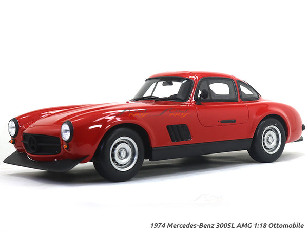 1974 Mercedes-Benz 300SL AMG 1:18 Ottomobile Scale Model car