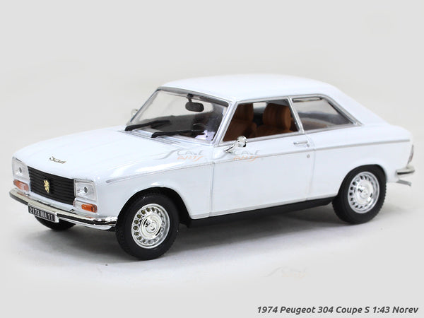 1974 Peugeot 304 Coupe S 1:43 Norev diecast Scale Model car