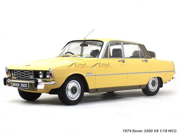 1974 Rover 3500 V8 1:18 MCG diecast Scale Model Car