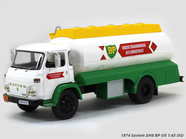 1974 Saviem SM8 BP Oil 1:43 IXO diecast Scale Model Truck