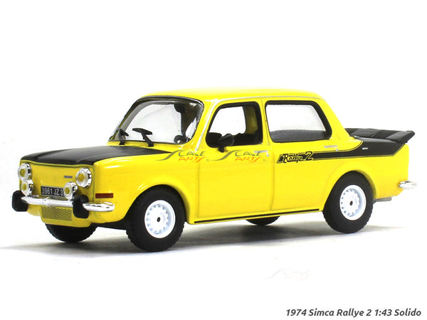 1974 Simca Rallye 2 1:43 Solido diecast Scale Model Car