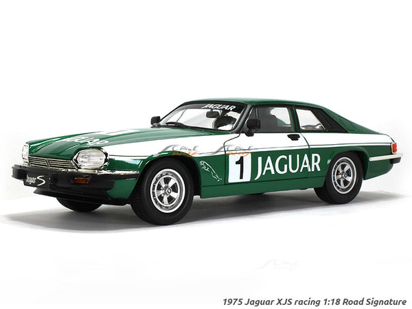 1975 Jaguar XJS racing 1:18 Road Signature Yatming diecast scale model car