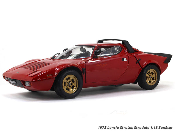 1975 Lancia Stratos Stradale 1:18 Sunstar diecast Scale Model car