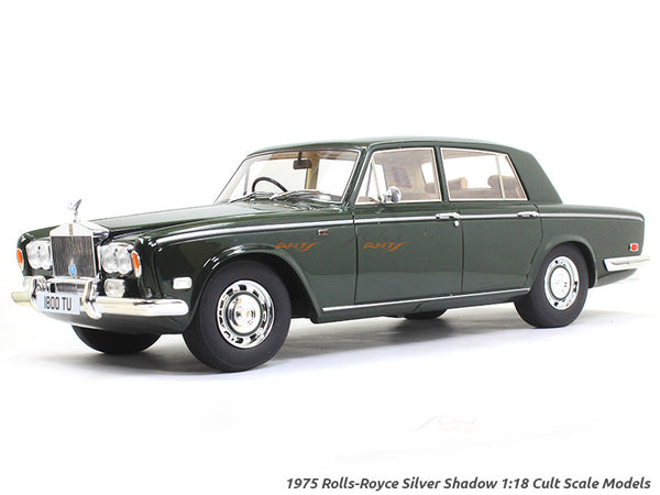 1975 Rolls Royce Silver Shadow 1:18 Cult Scale Models car replica
