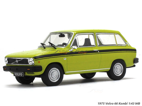 1975 Volvo 66 Kombi 1:43 Whitebox diecast Scale Model Car