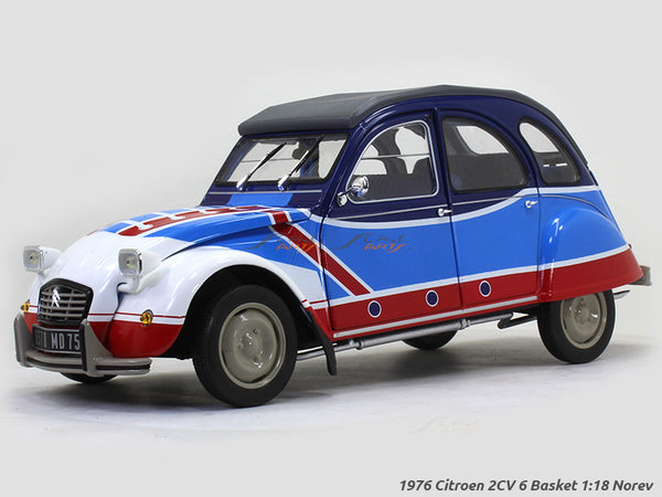 1976 Citroen 2CV 6 Basket 1:18 Norev diecast scale model car