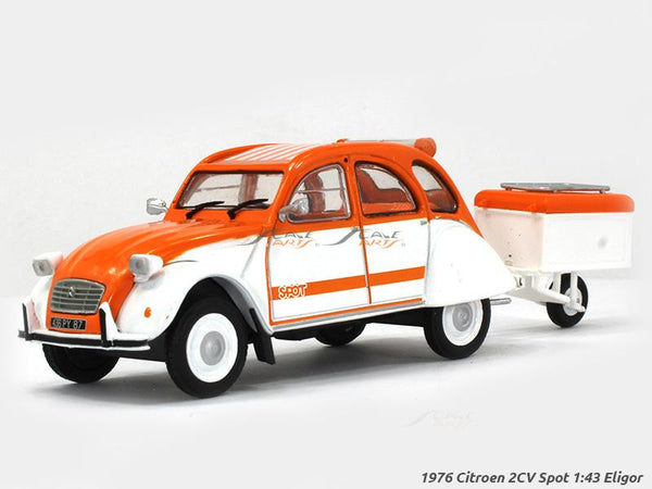 1976 Citroen 2CV Spot 1:43 Eligor diecast Scale Model Car
