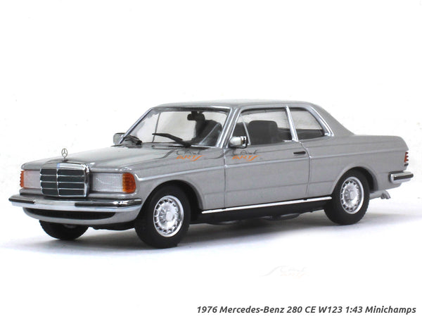 1976 Mercedes-Benz 280 CE W123 1:43 Minichamps diecast Scale Model Car