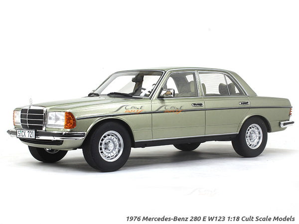 1976 Mercedes-Benz 280 E W123 1:18 Cult Scale Models car replica