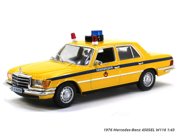 1976 Mercedes-Benz 450SEL W116 1:43 diecast Scale Model Car