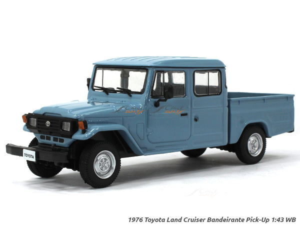 1976 Toyota Land Cruiser Bandeirante Pick Up 1:43 Whitebox diecast Scale Model Car